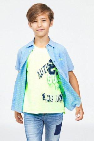 Рубашка Guess. Цвет: разноцветный