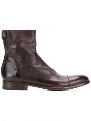 Ботинки по щиколотку Alberto Fasciani. Цвет: коричневый