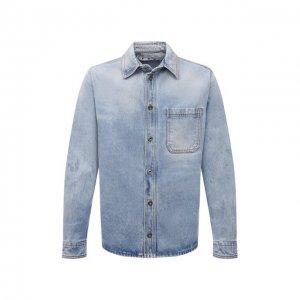 Джинсовая рубашка Off-White. Цвет: голубой