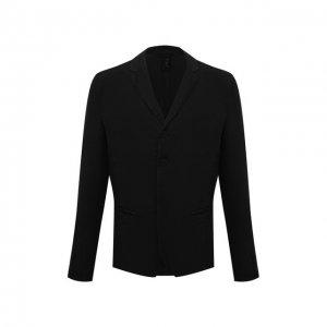 Льняной пиджак Transit. Цвет: чёрный