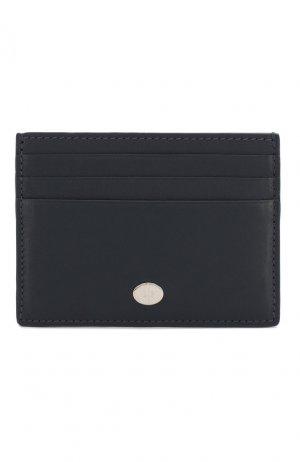 Кожаный футляр для кредитных карт Artemis Loro Piana. Цвет: темно-синий