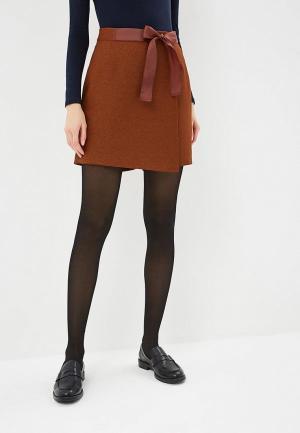 Юбка-шорты Fashion.Love.Story. Цвет: коричневый