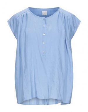 Блузка DES PETITS HAUTS. Цвет: лазурный