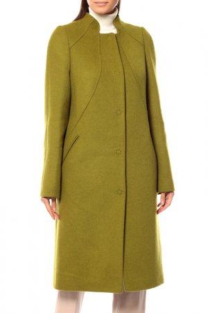 Пальто Анора. Цвет: ярко-зеленый