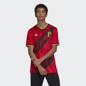 Домашняя футболка сборной Бельгии Performance adidas. Цвет: красный
