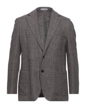 Пиджак 0909 FATTO IN ITALIA. Цвет: голубиный серый