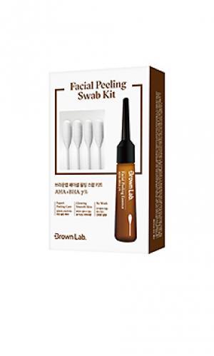 Набор facial peeling swab Brown Lab. Цвет: beauty: na