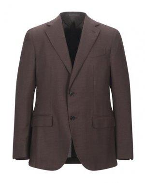 Пиджак CARUSO. Цвет: темно-коричневый
