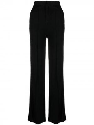 Прямые брюки с завышенной талией Rag & Bone. Цвет: черный