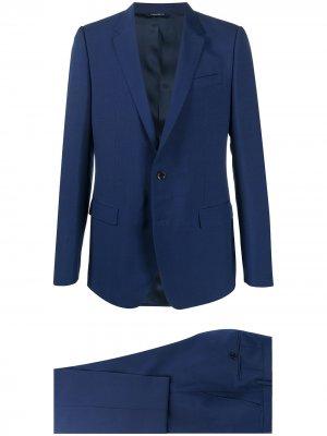Костюм-двойка Dolce & Gabbana. Цвет: синий