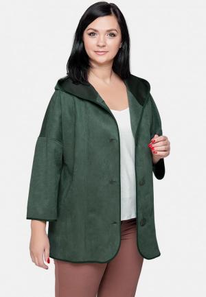 Куртка кожаная Limonti MP002XW1IA64. Цвет: зеленый