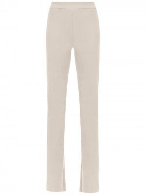 High waist flared pants Gloria Coelho. Цвет: нейтральные цвета