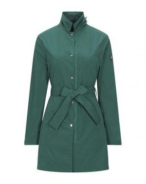 Легкое пальто CIESSE PIUMINI. Цвет: зеленый