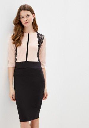 Платье Xarizmas. Цвет: розовый