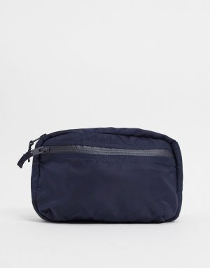 Темно-синяя сумка-кошелек на пояс -Голубой Selected Homme