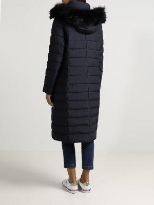 Удлиненная куртка Basler. Цвет: temno_siniy