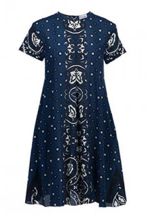 Платье VALENTINO RED. Цвет: синий