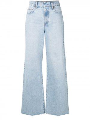 Широкие джинсы Skylar с завышенной талией Nobody Denim. Цвет: синий