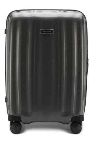 Дорожный чемодан Lite Cube large Samsonite. Цвет: серый