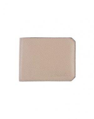 Бумажник SANTONI. Цвет: серый