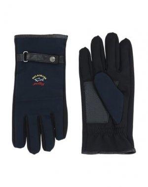 Перчатки PAUL & SHARK. Цвет: темно-синий