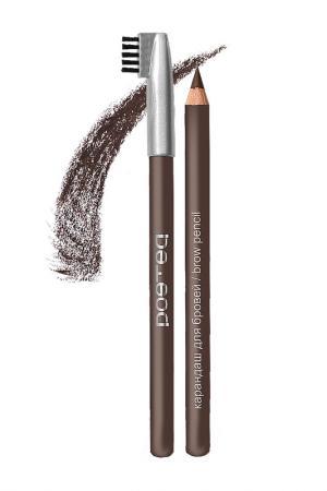 Контурный карандаш для бровей POETEQ (Поэтэ). Цвет: шоколадный шатен