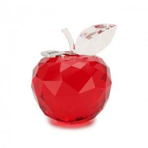 Статуэтка New York apple Swarovski. Цвет: красный
