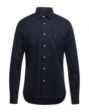 Pубашка BEVERLY HILLS POLO CLUB. Цвет: темно-синий