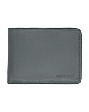 Бумажник VALENTINO di MARIO. Цвет: свинцово-серый
