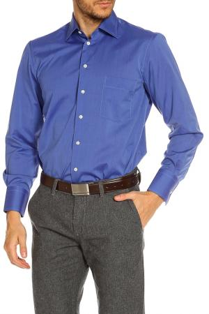 Рубашка Alessandro Bonimi. Цвет: синий