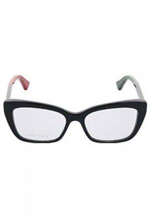 Корригирующая оправа GUCCI sunglasses. Цвет: черный