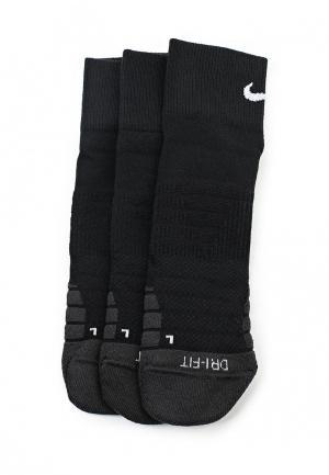 Комплект Nike Unisex Everyday Max Cushion Ankle Training Sock (3 Pair). Цвет: черный