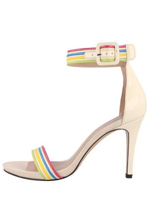 Босоножки EL Dantes. Цвет: beige, multicolor