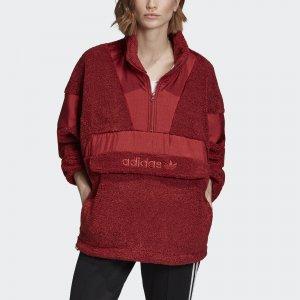 Анорак Sherpa OTH Originals adidas. Цвет: красный