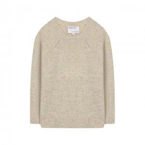 Шерстяной пуловер Designers, Remix girls. Цвет: бежевый