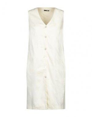 Платье до колена B.YU. Цвет: слоновая кость