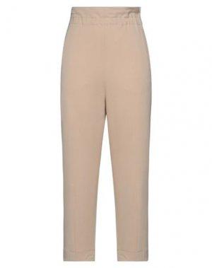 Повседневные брюки HACHE. Цвет: бежевый
