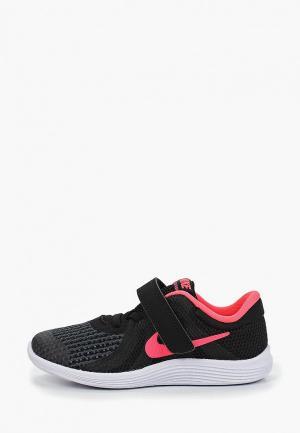 Кроссовки Nike GIRLS REVOLUTION 4 (TD) TODDLER SHOE. Цвет: черный