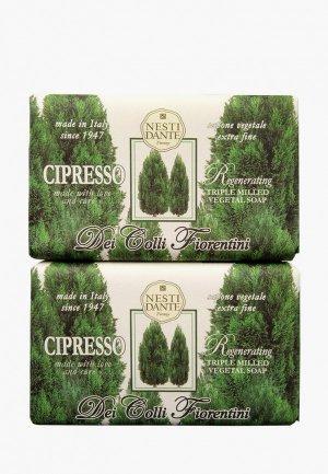 Набор для ухода за телом Nesti Dante Cypress tree / Кипарис, 2*250г. Цвет: разноцветный