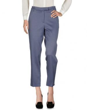 Повседневные брюки HOLLY GOLIGHTLY. Цвет: грифельно-синий
