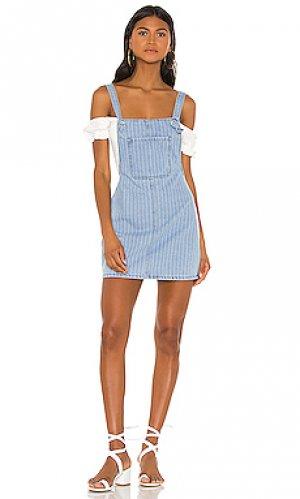 Джинсовое платье ida superdown. Цвет: none