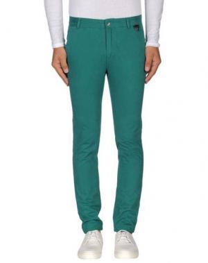 Повседневные брюки ELEVEN PARIS. Цвет: зеленый