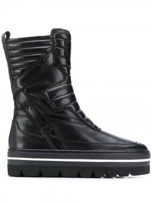 Ботинки со вставками Steffen Schraut. Цвет: черный