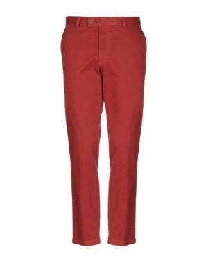 Повседневные брюки DIMENSIONE. Цвет: ржаво-коричневый