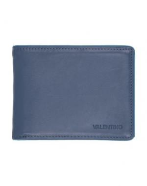 Бумажник MARIO VALENTINO. Цвет: синий