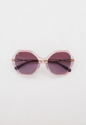 Очки солнцезащитные Coach HC8315 56418H. Цвет: фиолетовый