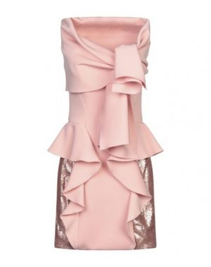 Короткое платье MIKAEL. Цвет: розовый