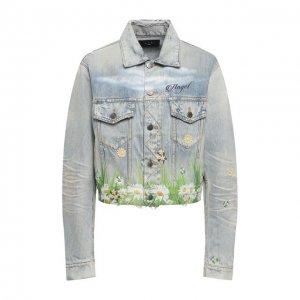 Джинсовая куртка Amiri. Цвет: синий