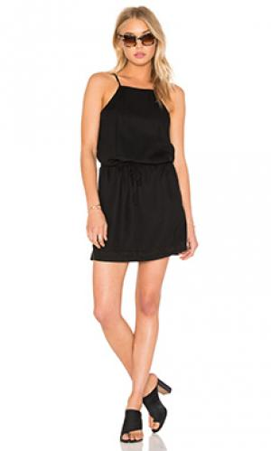 Платье anjelica PAIGE. Цвет: черный