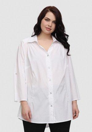 Рубашка Masteritsa New Classic. Цвет: белый